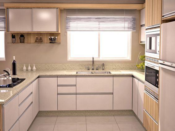 Armário Para Cozinha Em Inglês ~ Cozinha planejada qual o formato ideal? Mocambo Imóveis